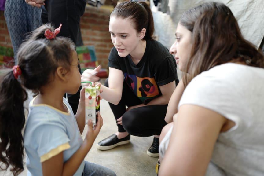 "Rachel Brosnahan i ""Activate: Et globalt initiativ"""