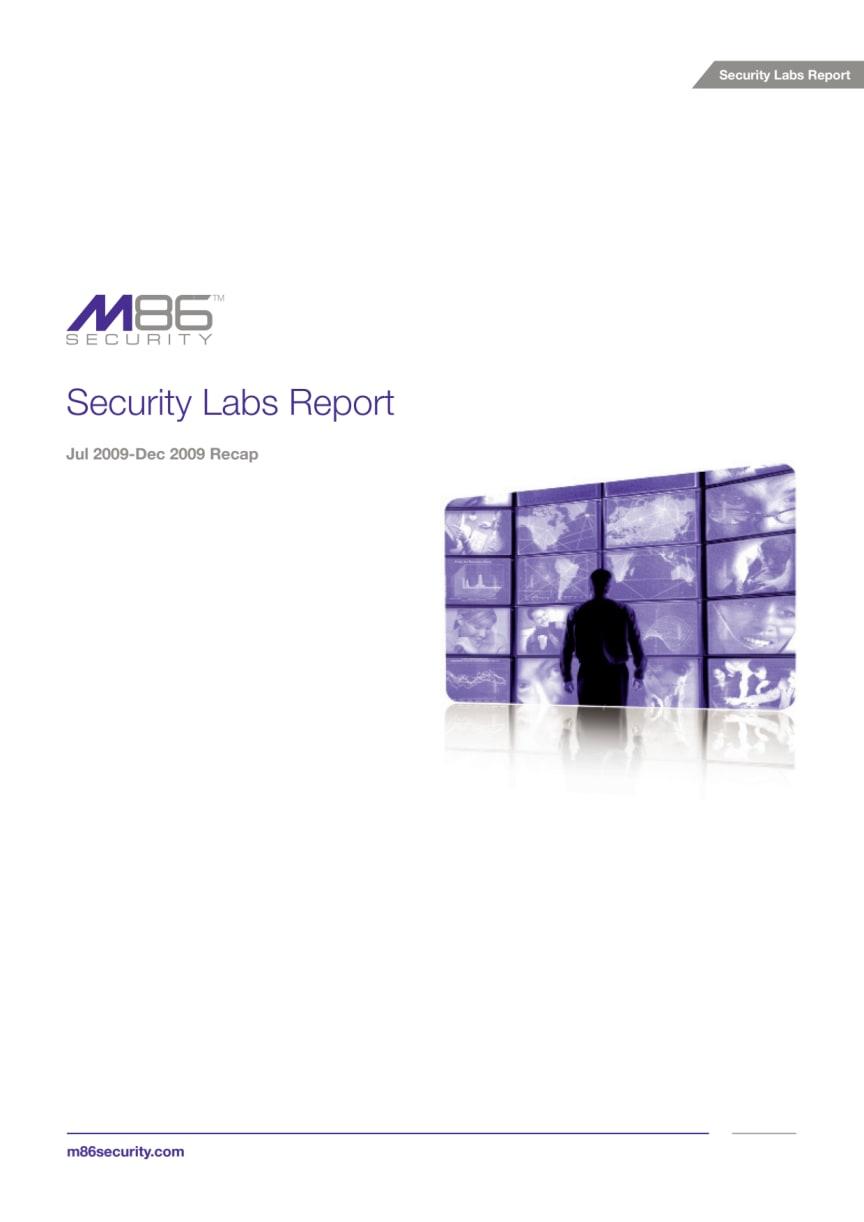 Säkerhetsrapport från M86 Security Labs 2010