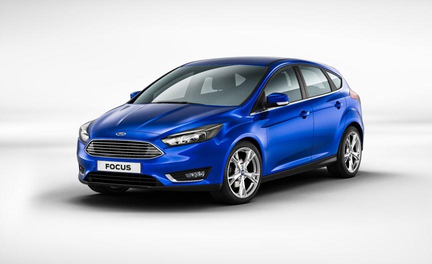 Nye Ford Focus, 5-dørs.