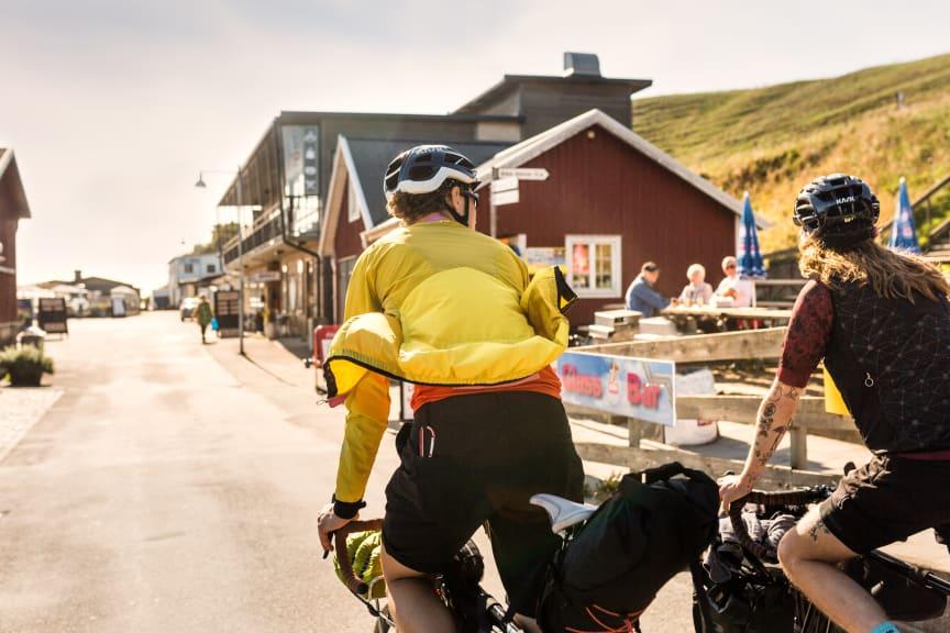 Sydkustleden ved Ale Stenar i Skåne
