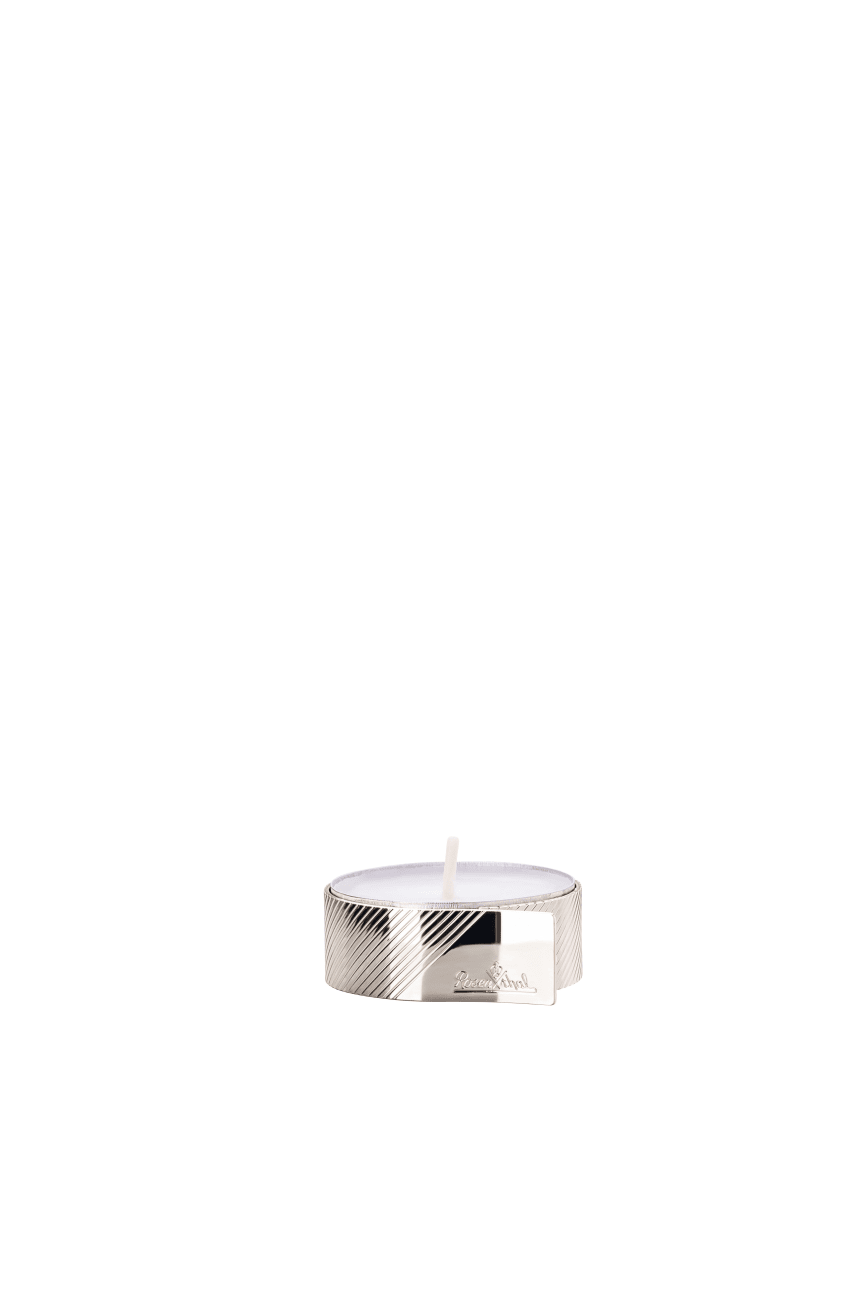R_Silver_Collection_Streaked_Teelicht_4_cm_Silver