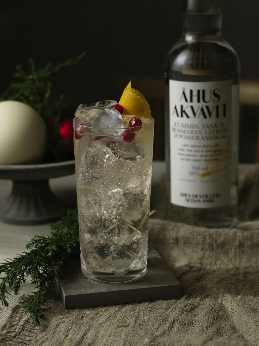 Åhus Akvavit: The Holiday Tonic
