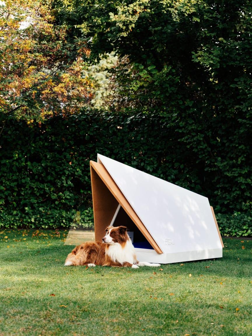 Fords lydisolerende hundehus