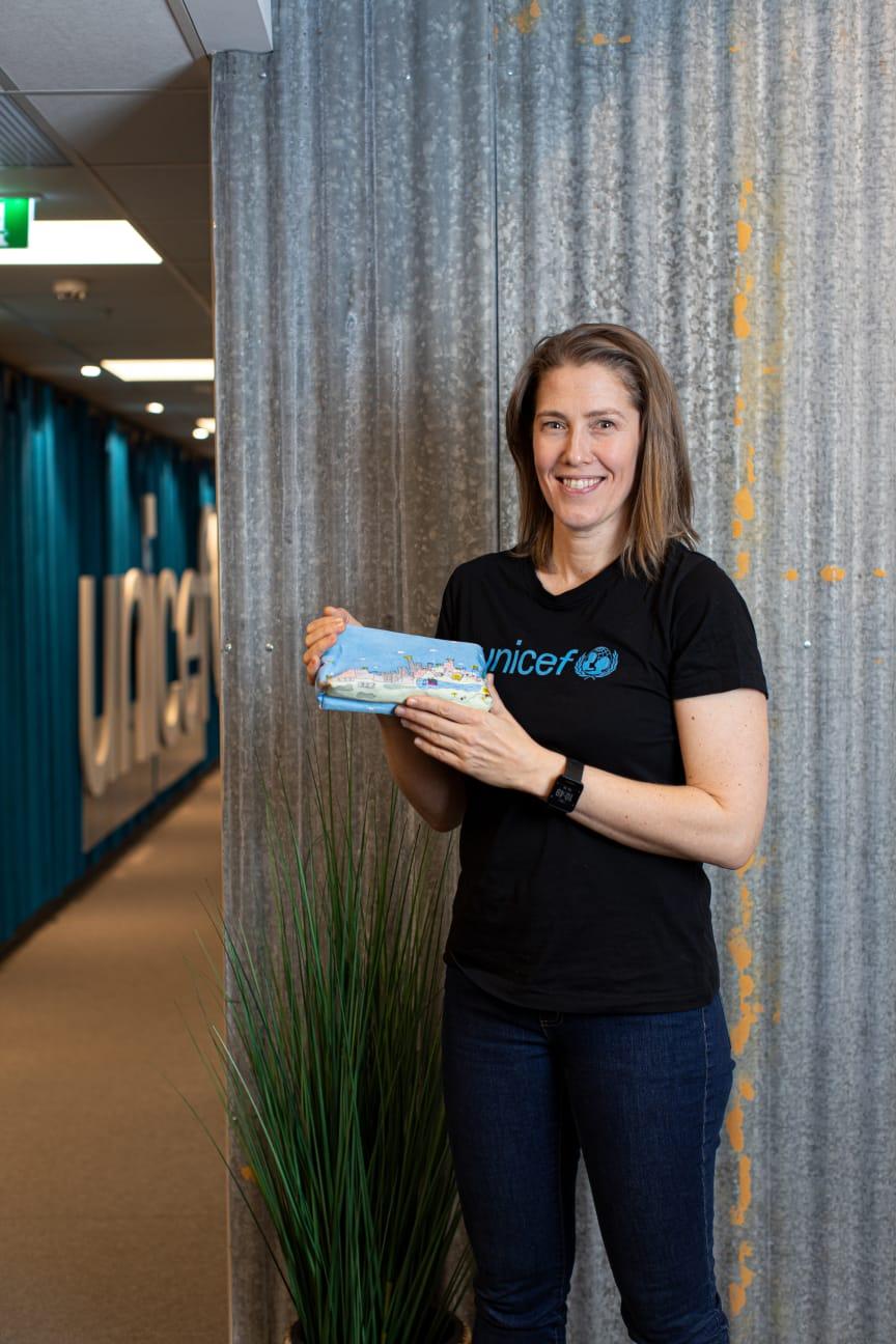 Camilla Viken - generalsekreterare för UNICEF Norge