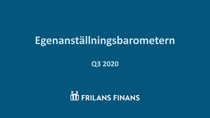 Egenanställningsbarometern 2020-Q3