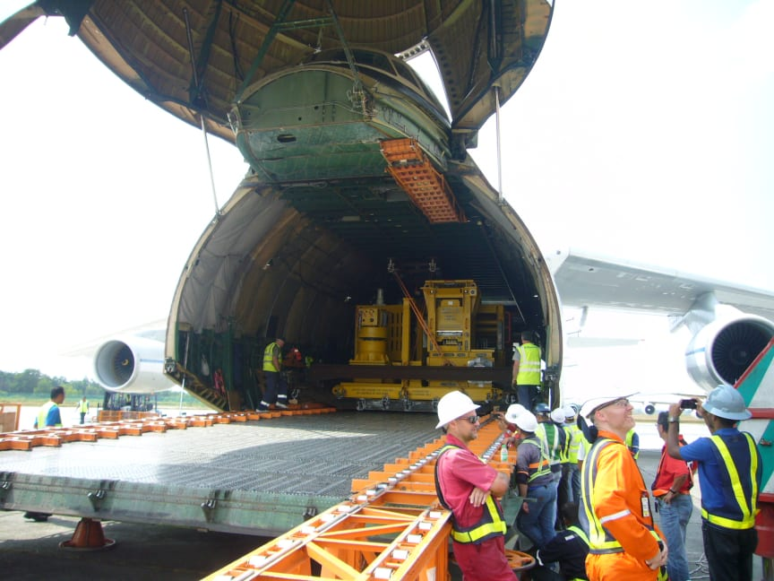 Major Move: subsea tree inside An-124