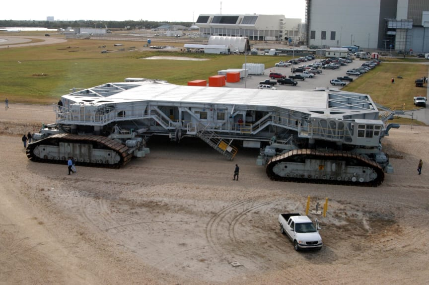 8ste plaats: Transport Crawler