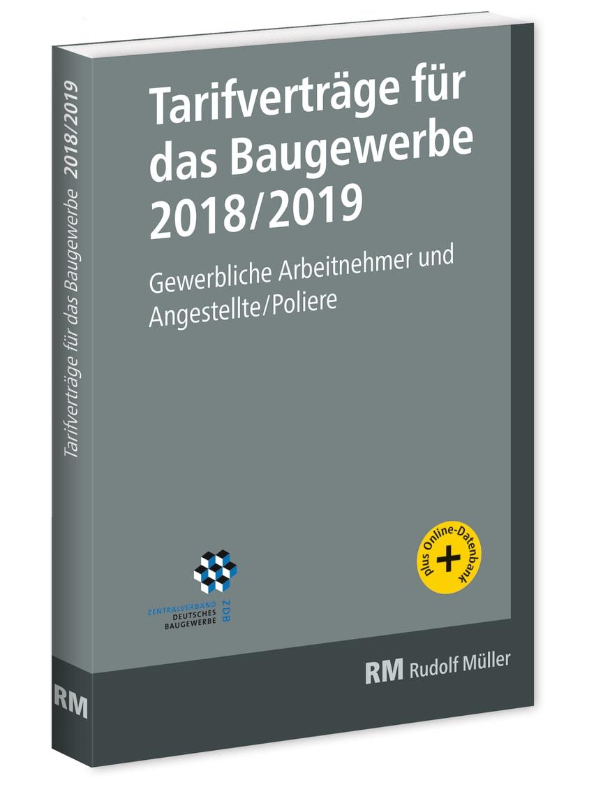 Tarifverträge für das Baugewerbe 2018/2019 (3D/tif)