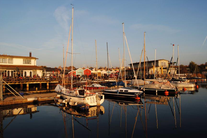 Cospudener See - Hafen Zöbigker