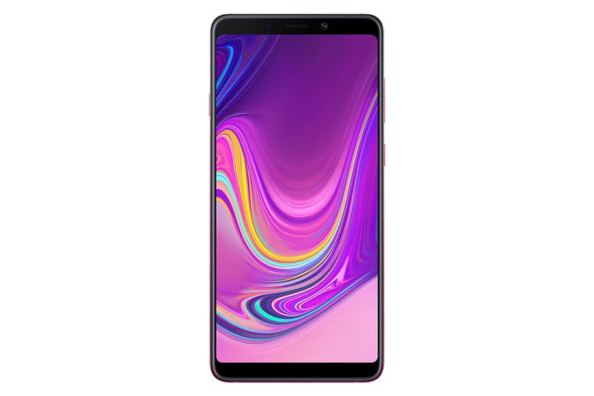 Galaxy A9_Front_Bubblegum Pink