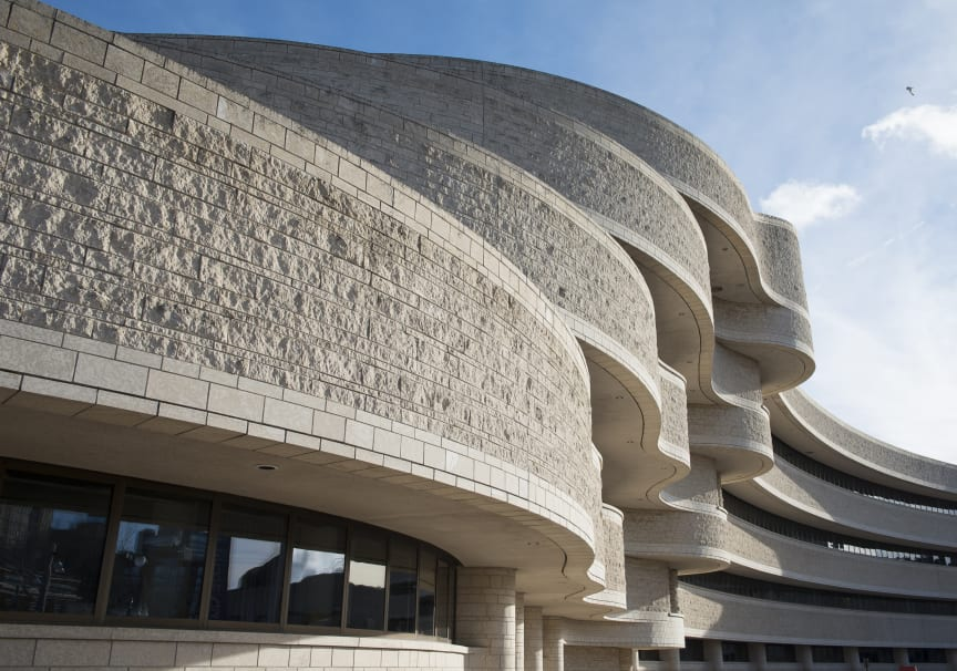 Canadian Museum of History _ Provided by Douglas Cardinal Architect Inc