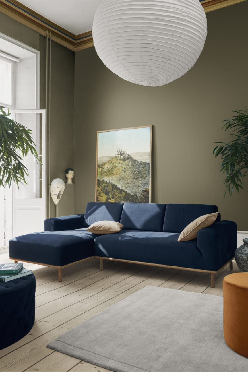Vilmar chaiselong sofa