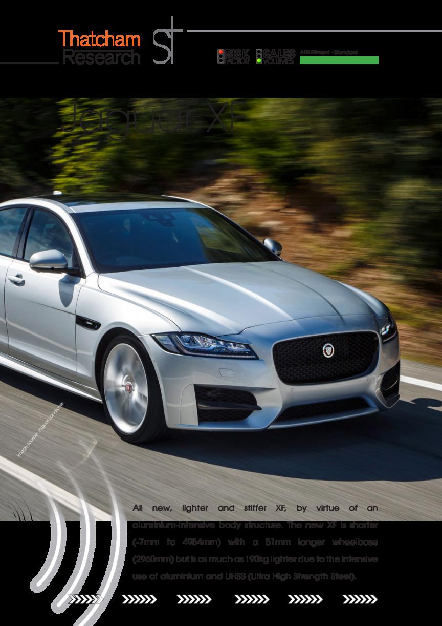 Thatcham 1st : Jaguar XF