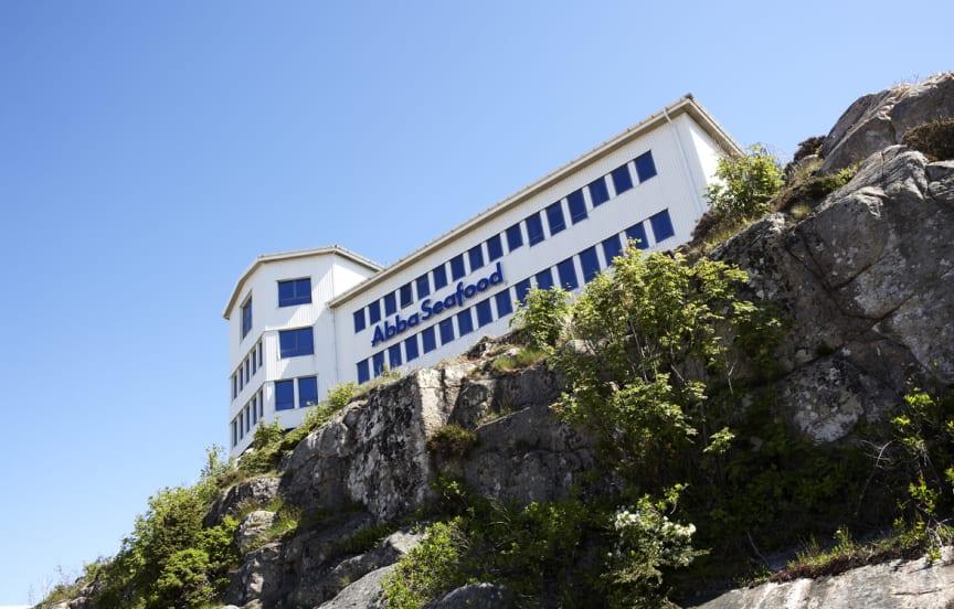 Kontoret vid Hagabergsfabriken i Kungshamn