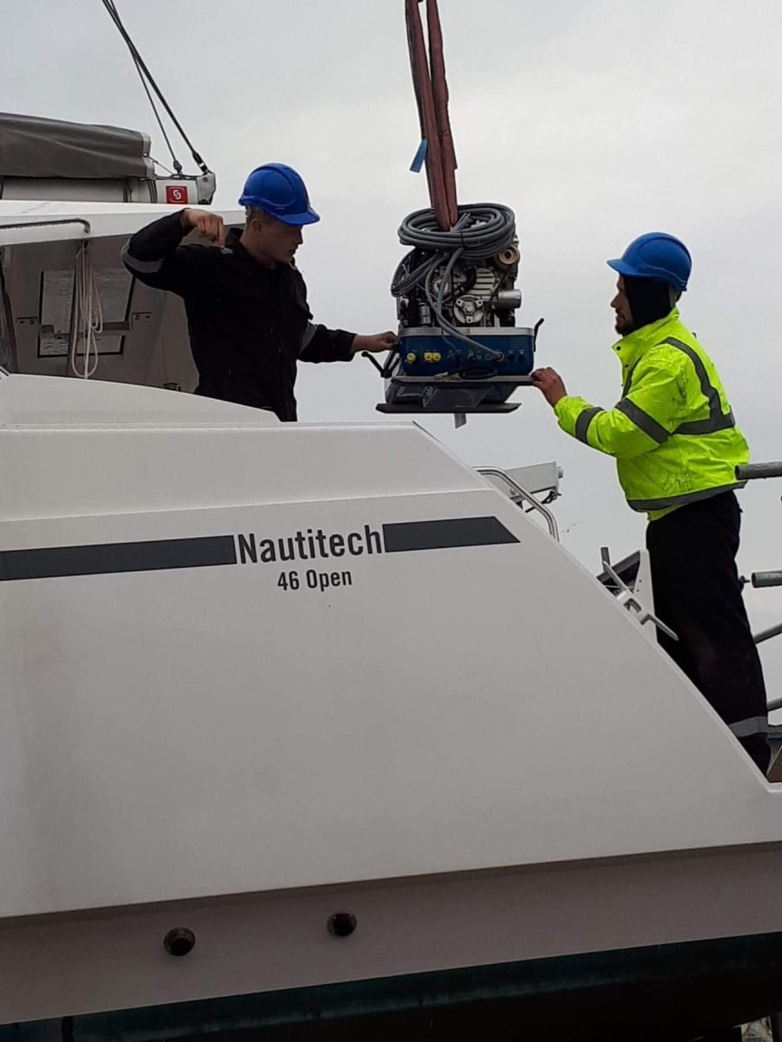 Web image - Fischer Panda UK - Fischer Panda UK has donated a Panda PMS 9000 ND generator to Natasha Lambert for her Atlantic crossing on 'Blown Away'