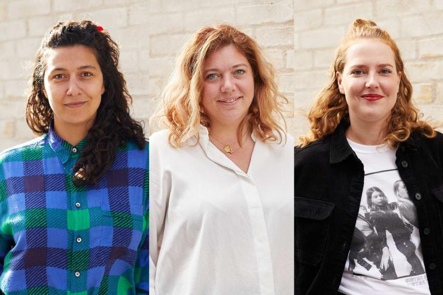 De sjove kvinder - Sofie Flykt, Ane Høgsberg og Molly Thornhill