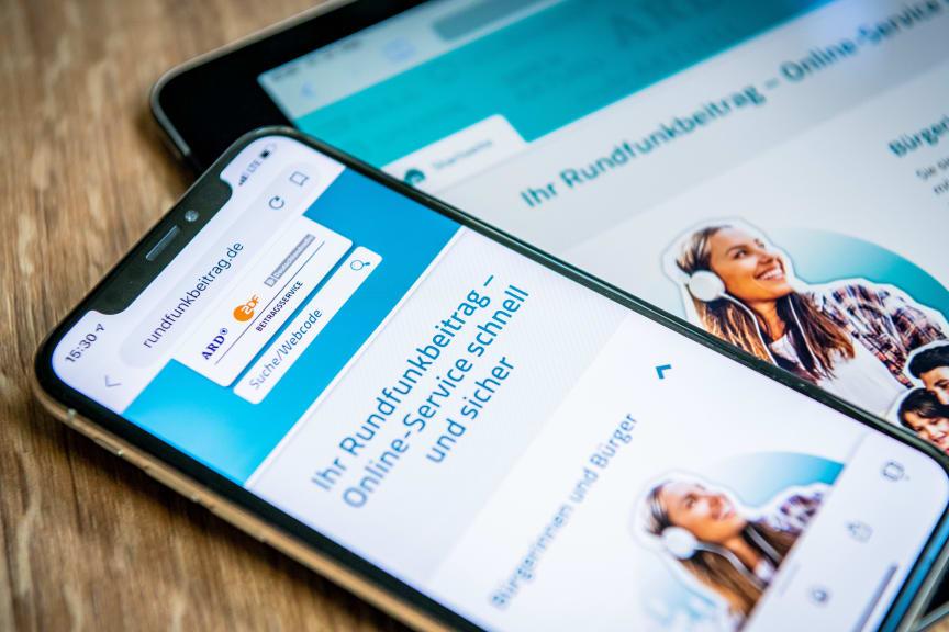 Online-Service zum Rundfunkbeitrag: rundfunkbeitrag.de