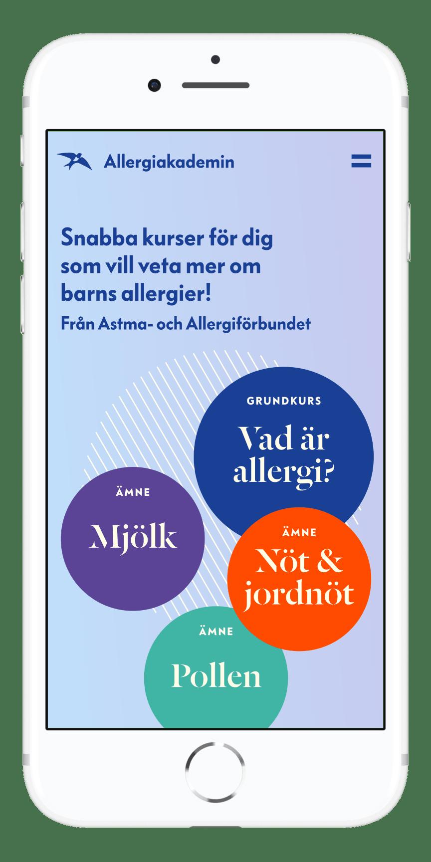 Startsidan Allergiakademin