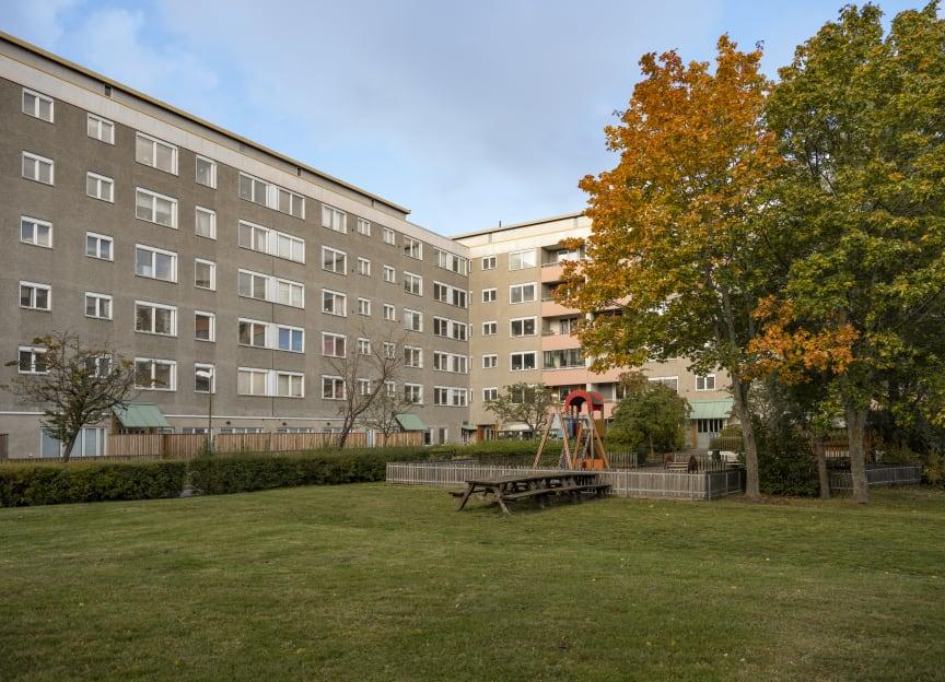 Innergård på Henriksdalsberget