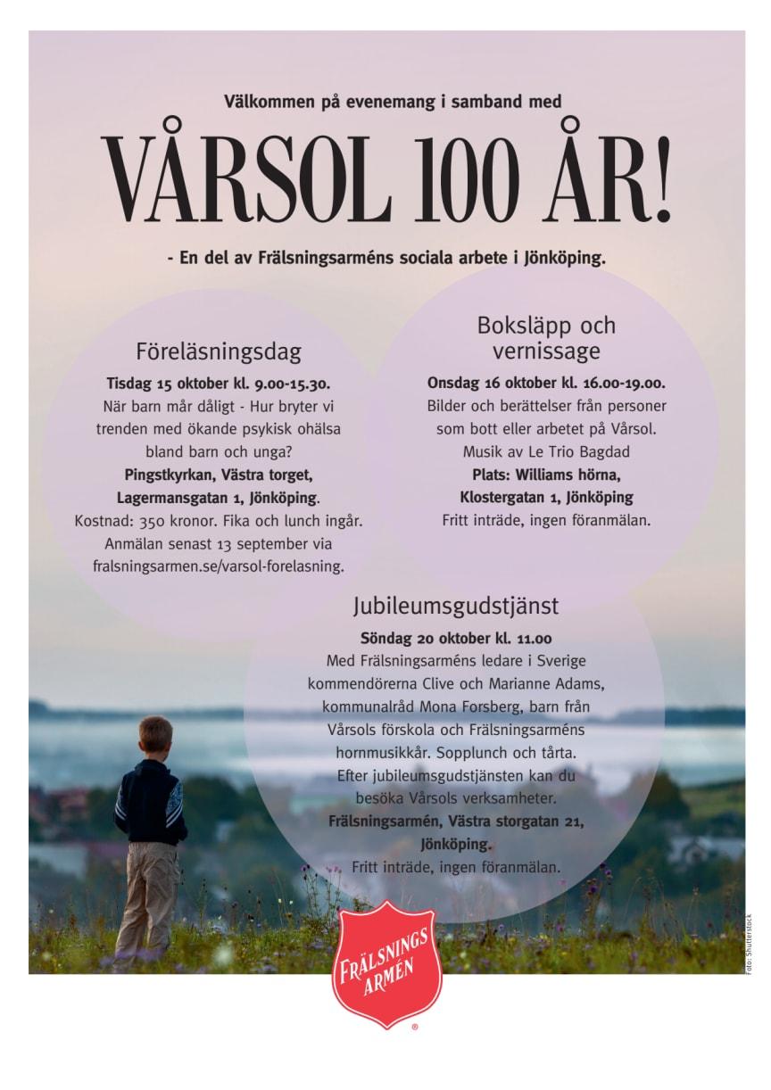 Välkommen till Vårsol 100 år!