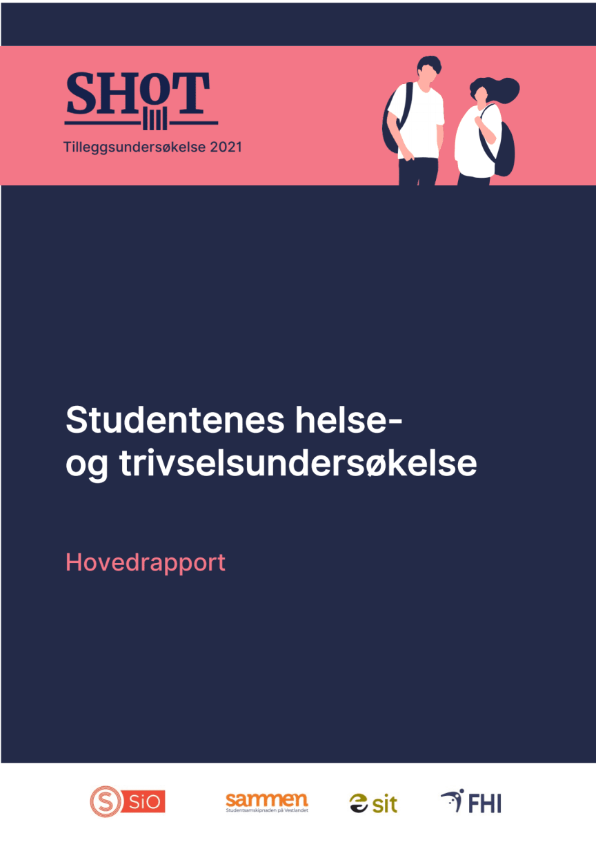 Hovedrapport til Studentenes helse og trivselsundersøkelse 2021