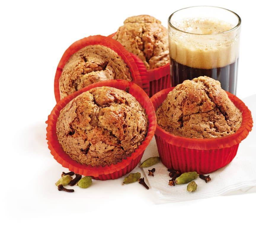 Pepparkaksmuffins från Fria