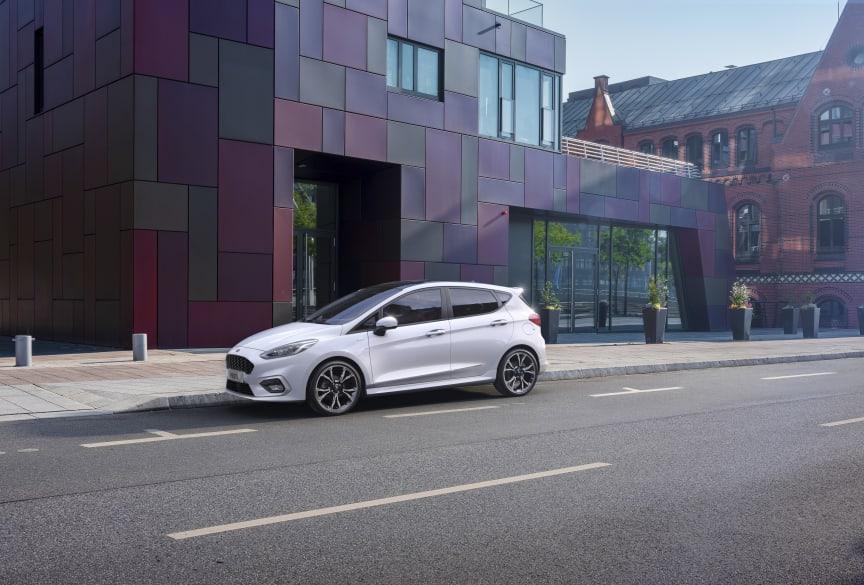 Ford Fiesta EcoBoost hybrid 2020