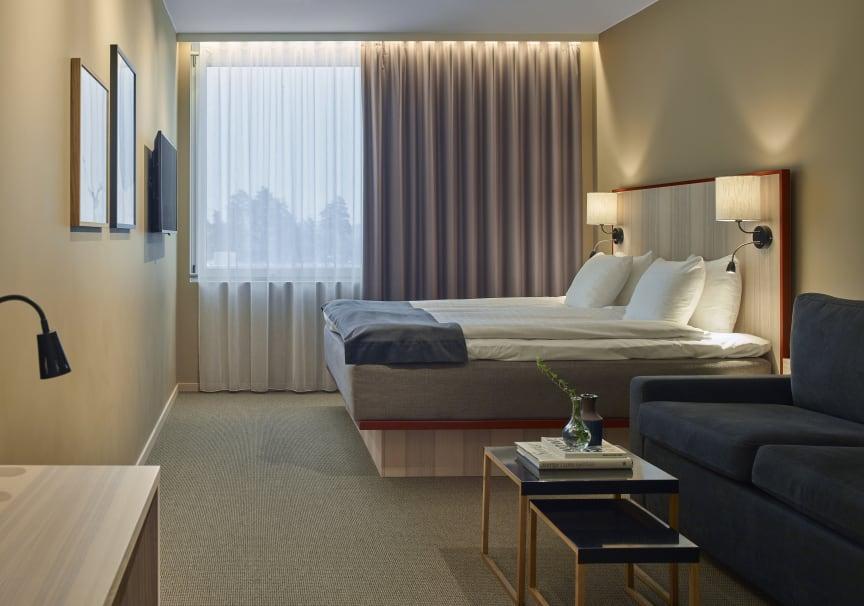 Hotel room at Scandic Arlandastad