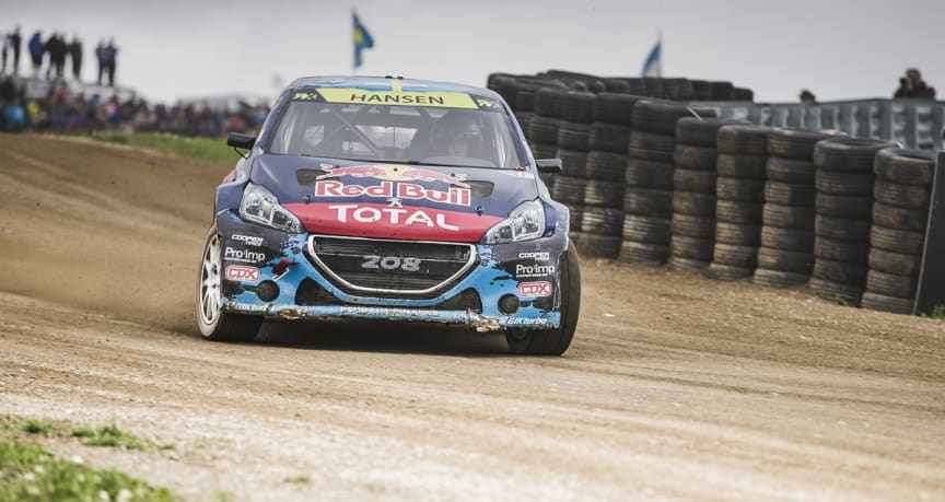 Peugeot-Hansen siktar på ny pallplats