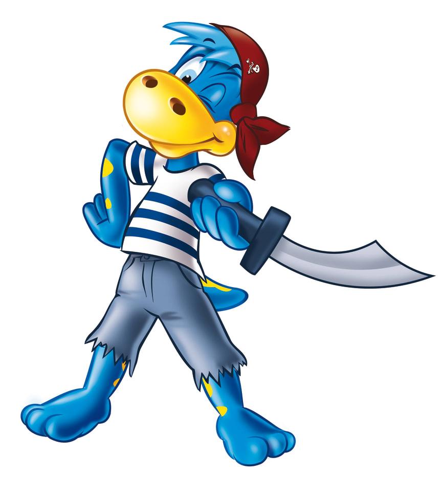 Danonino Dino Pirat