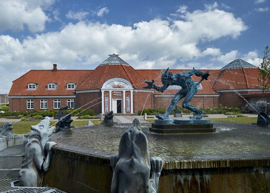 Vejen Kunstmuseum - Troldespringvand