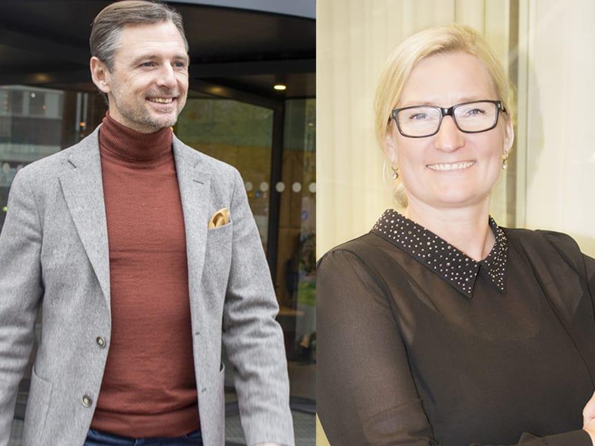 Jag är övertygad om att både Kristina och Andreas kommer vara starkt bidragande till vår positiva utveckling i framtiden, säger Johan Michelson, VD för BWH Hotel Group.