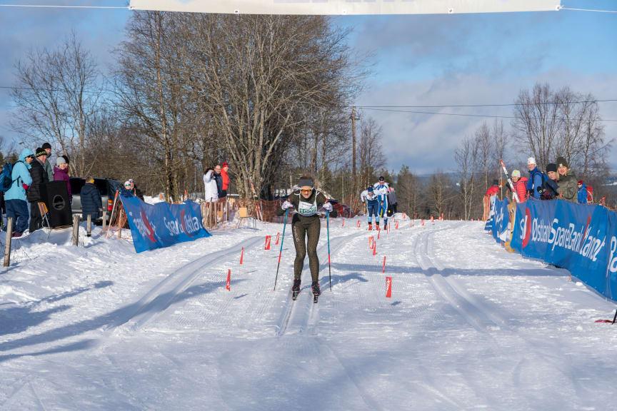 Vinner av dameklassen Trysil Skimaraton Martine Ek Hagen