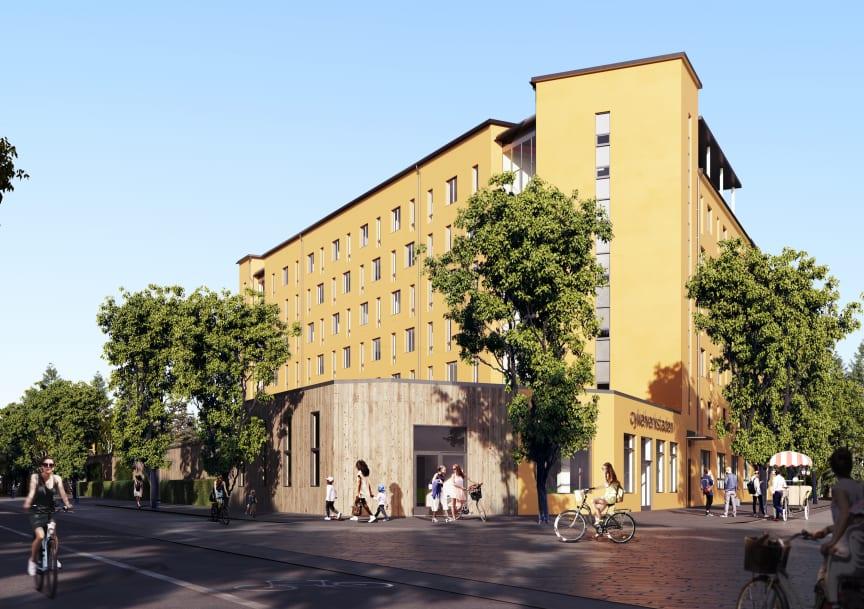 Brf Cykelverkstaden,  Täby park, Riksbyggen