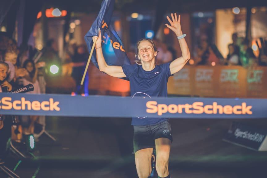 Anna Starostzik gewann die 10km in 37:20 Minuten