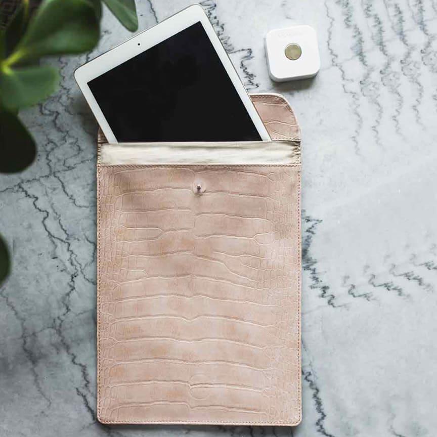 Signalblockerande iPadväska med lås-smartasaker