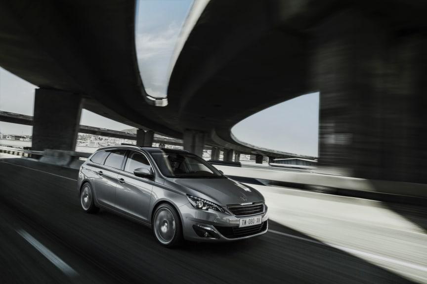 Nya Peugeot 308 SW dynamic