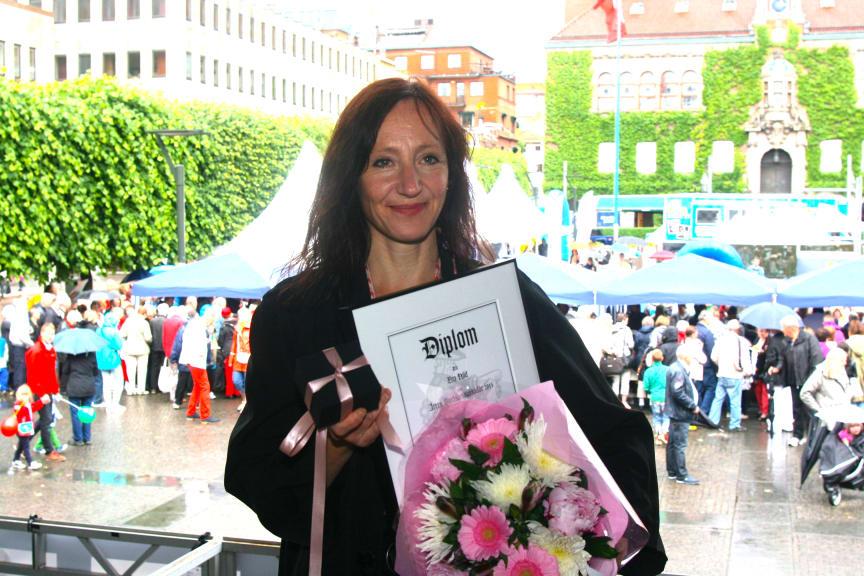 Eva Hild är årets Boråsambassadör