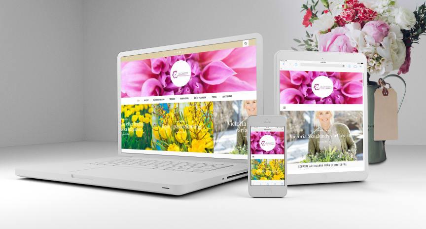 Blomsterfrämjandet lanserar ny webbplats