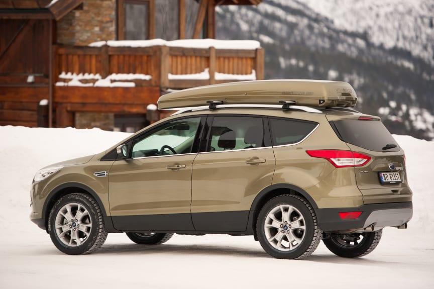 Stor efterfrågan på nya Ford Kuga - Ford Europa skruvar upp produktionen till mer än 100 000 fordon per år