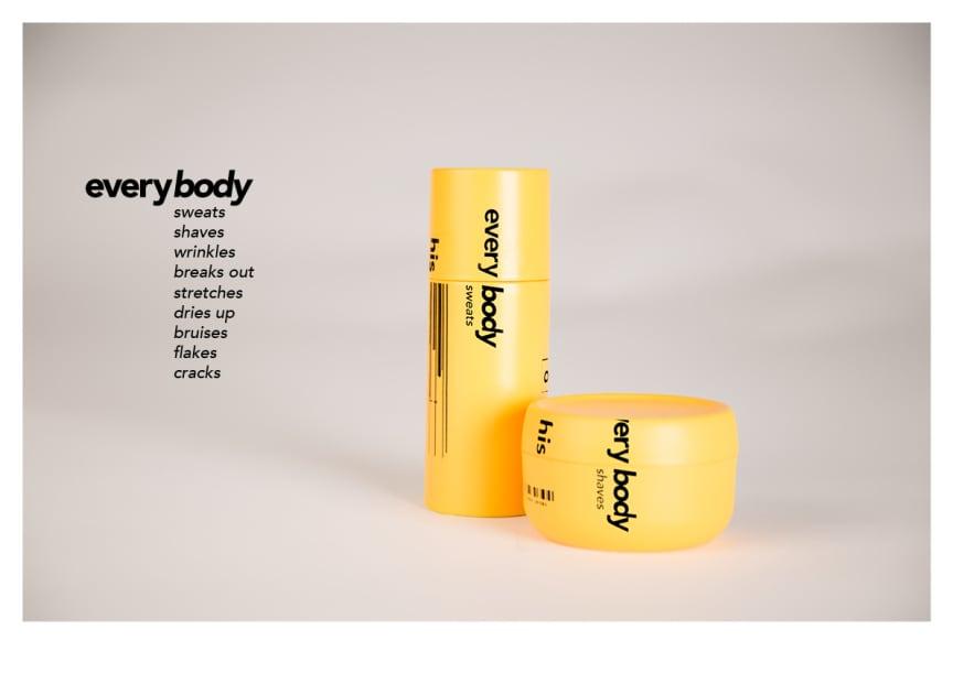 'Everybody' cosmetics brand by Jordan Robertson