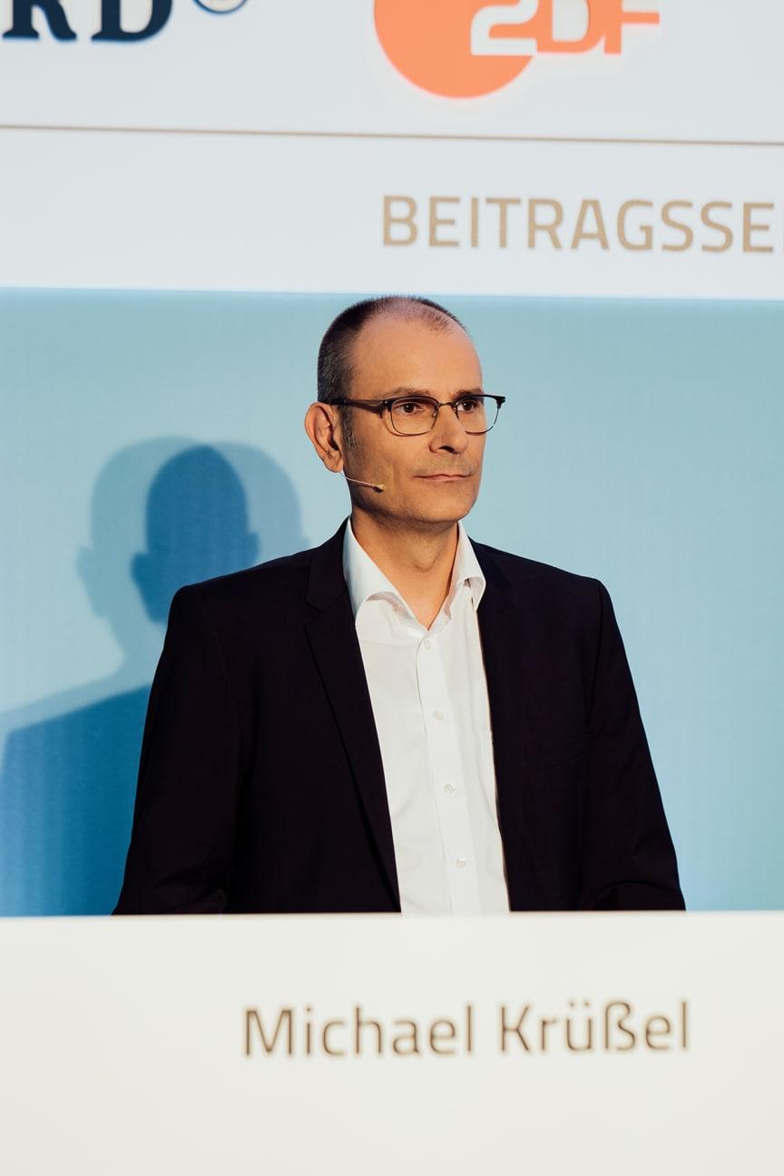 Michael Krüßel, Geschäftsführer Beitragsservice von ARD, ZDF und Deutschlandradio