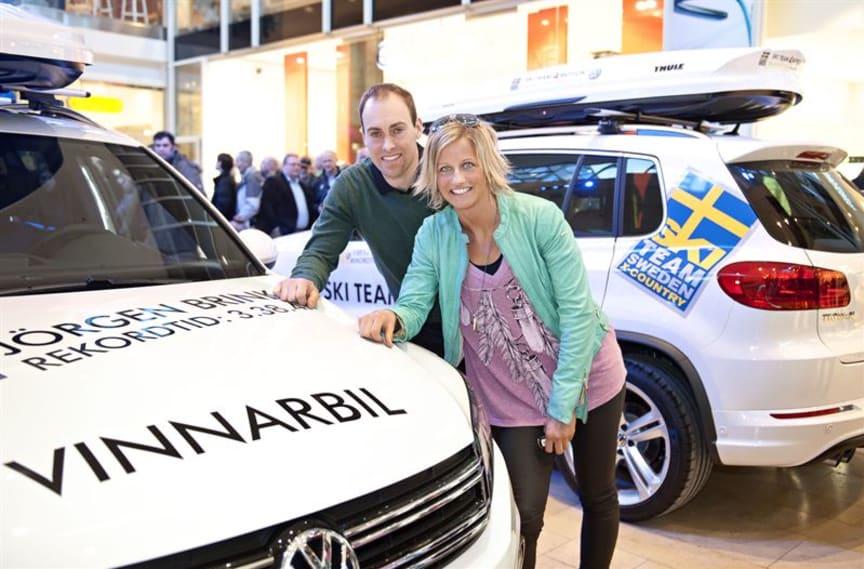 Jörgen Brink och Vibeke Skofterud