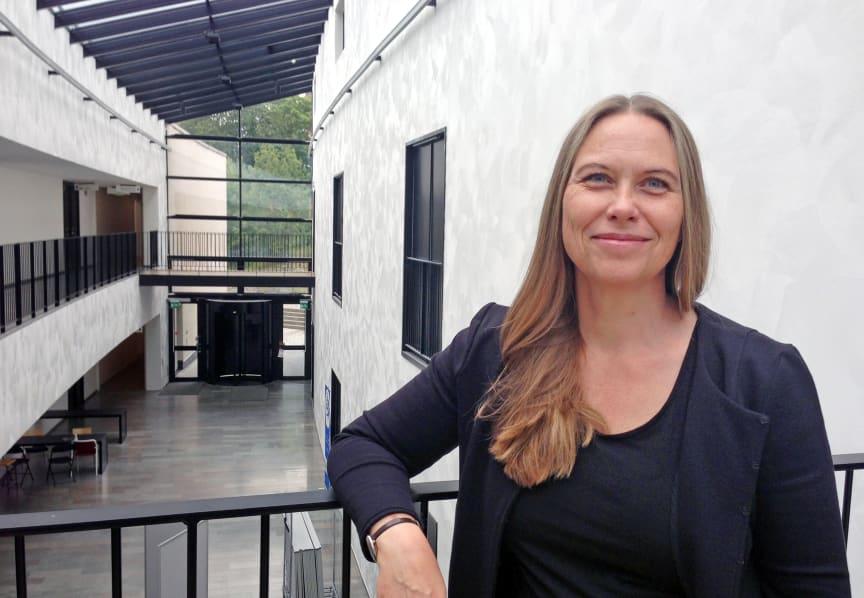 Christina Divne, professor på skolan för bioteknologi vid KTH.