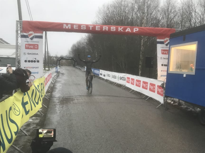 NM Sykkelkross 2019, Spikkestad. BOC