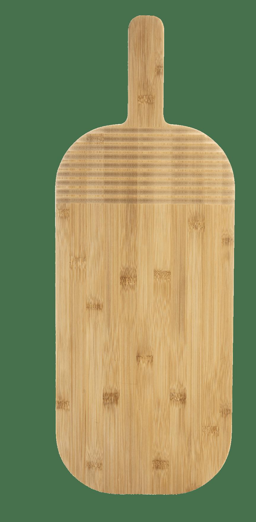 Nature skärbräda stor 54 cm, bambu