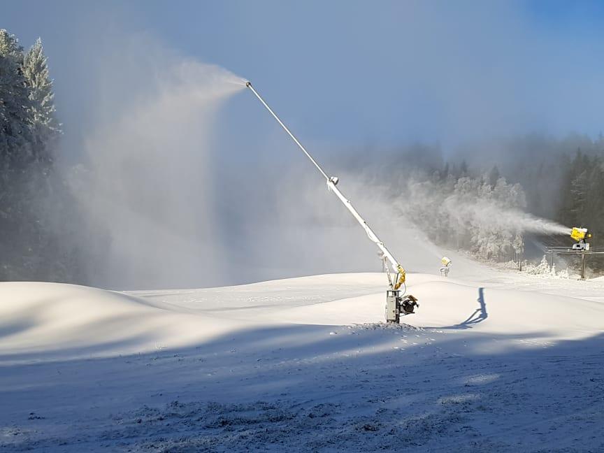 Sneproduktion i Isaberg