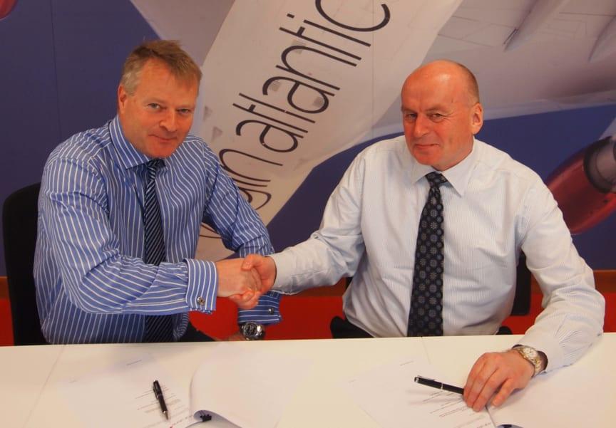 Norwegian and Virgin Atlantic with Dreamliner cooperation