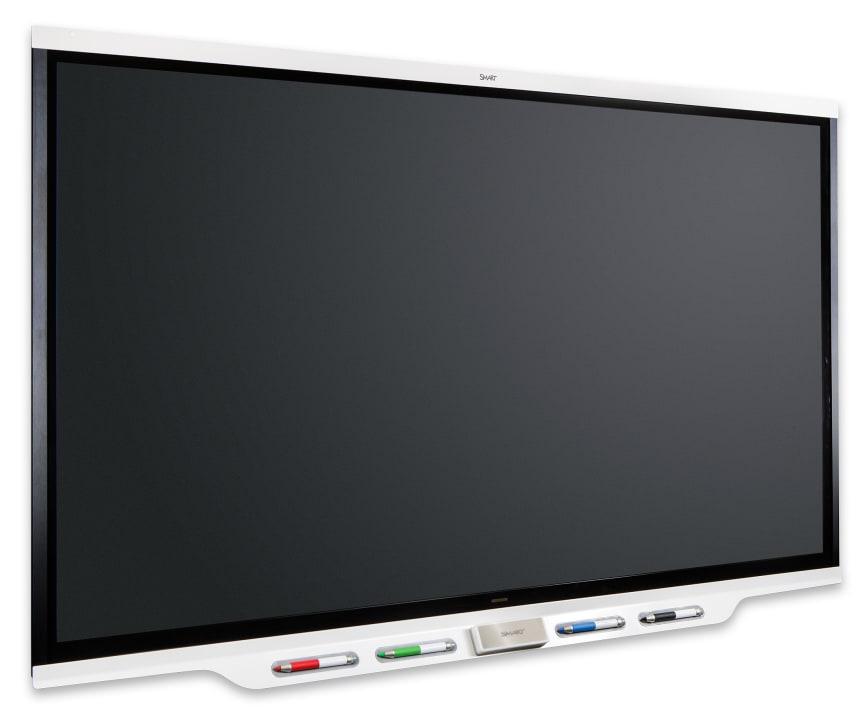 SMART Board iQ 7000 black screen