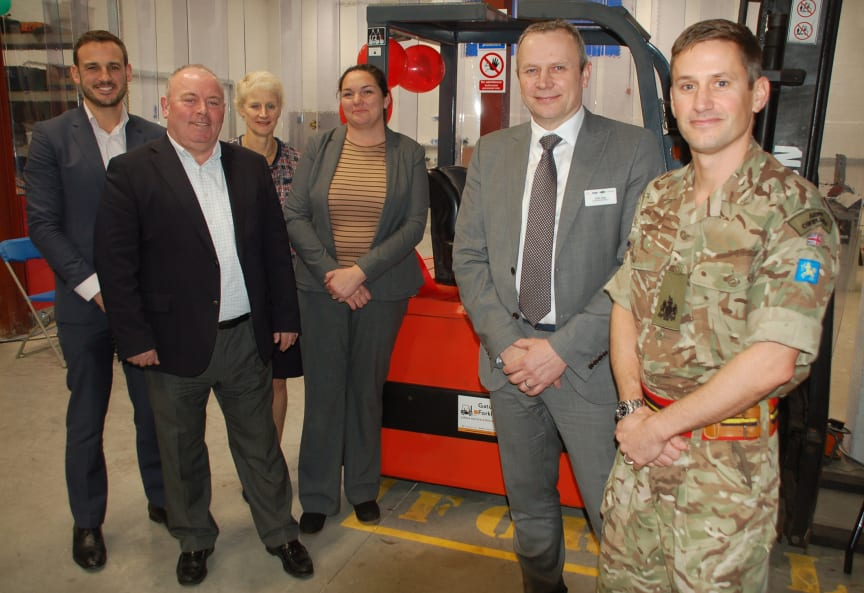 Opening the new maintenance depot at Horsham
